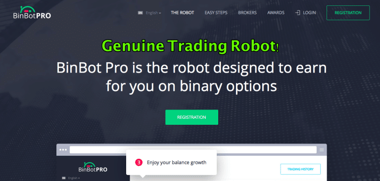 Professional binary option robot